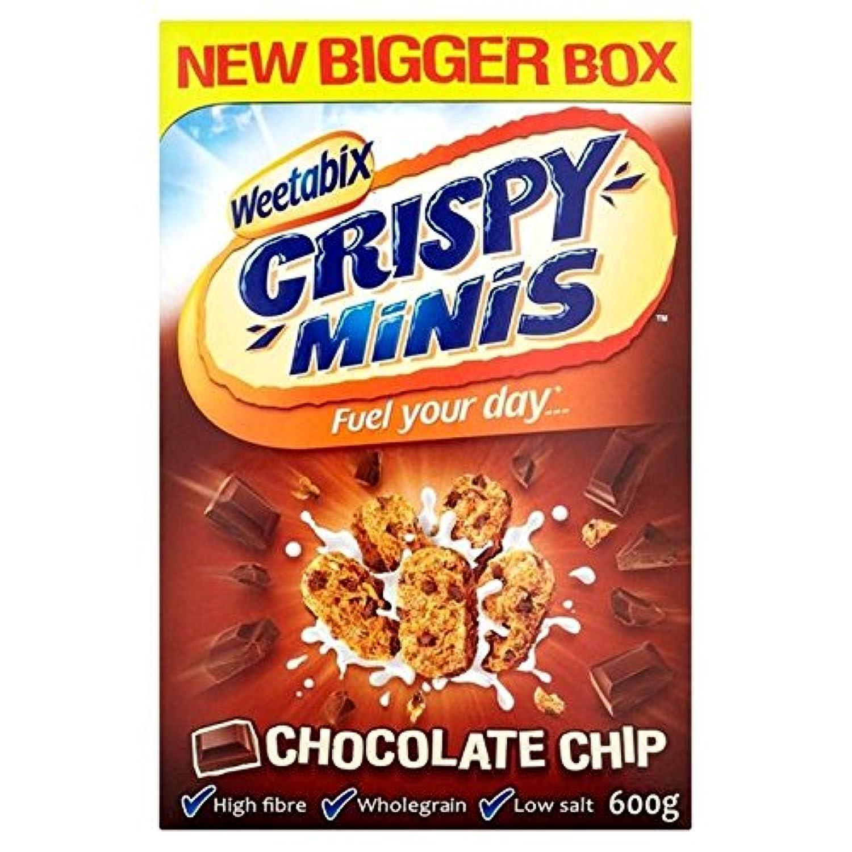 Weetabix Miniのチョコレート600グラム (x 4) - Weetabix Minis Chocolate 600g (Pack of 4) [並行輸入品]