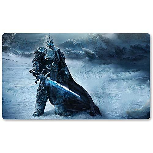 Warcraft120 – Brettspiel Warcraft Spielmatte Wow Tischmatte Spiele Keyboard Pad Größe 60 x 35 cm World of Warcraft Mousepad für Yugioh Pokemon MTG oder TCG