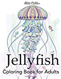 Jellyfish Coloring Book for Adults (Animal Coloring Books)