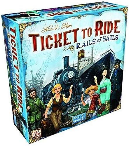 Days of Wonder Ticket to Ride Rails und Segel