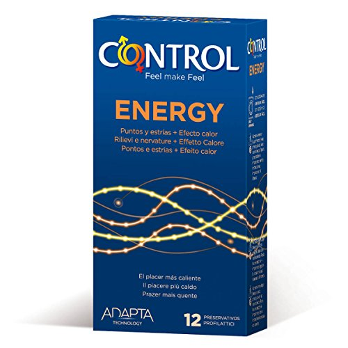 Control Adapta Energy Preservativos 12 Unidades