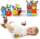 Calcetines de sonajero - Calcetines de bebé - Sozzy New Born Baby Socks...