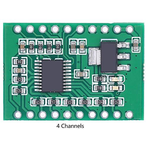 Marhynchus MY2901 Digitales Konvertierungsmodul Beschleunigungssensoren für flexible Filmdrucksensoren AD-Wert Serial Converter(4 Channels)