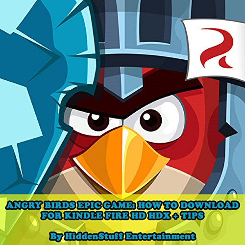 Angry Birds Epic Game audiobook cover art