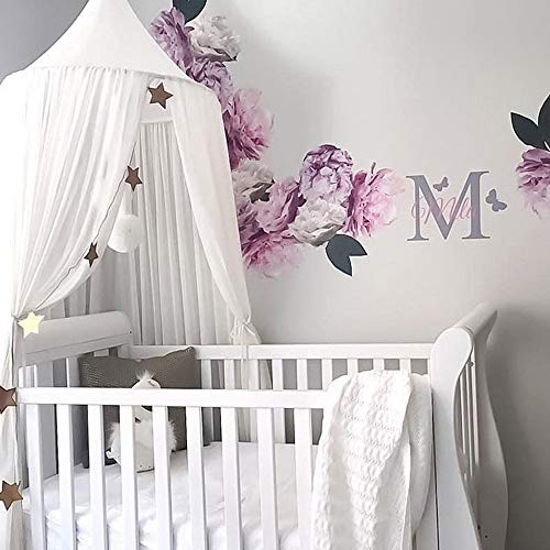 Weimilon Mosquito Bed Canopy Netting Crib Casual Chic With Dom Princess Castle Play Tent With Kids Decoration For Baby Kids Play Inside And Play At Home Height 240 Cm 94.5In