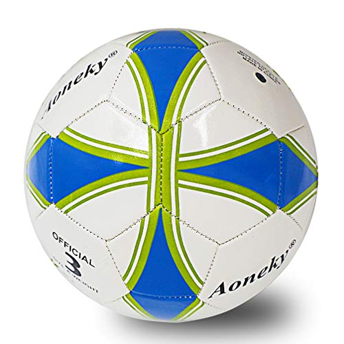 Aoneky Deflated Mini Kids Soccer Ball Size 3