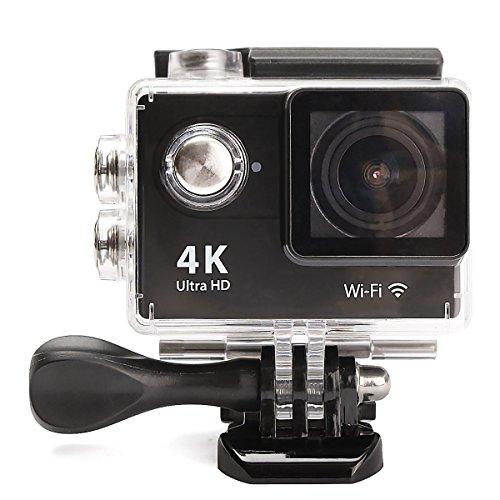Mohoo WiFi sport Action Camera Full HD 4K DV Auto DVR spca6350HDMI impermeabile telecomando 150° grandangolare lente full 1080P Wifi HDMI Videocamera per casco, immersioni, ciclismo e sport estremi