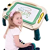 hopopower Magnetic Drawing Board Toy for Girls Boys, Erasable Magna Doodle Board Writing Sketch Pad Birthday Christmas Party Supplies Gift for Kids Age 3 and Above