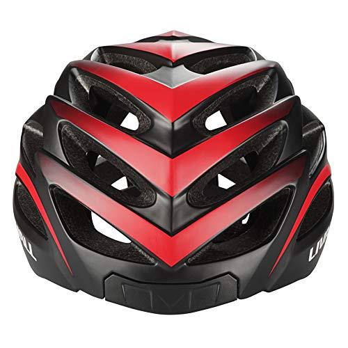 LIVALL BH62 Casco de Bicicleta Inteligente con Luces traseras de señal de Giro, micrófono Integrado para Cortavientos, Altavoz Bluetooth, Casco de Ciclismo para Adultos con Controlador Bling Jet