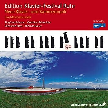 New Piano & Chamber Music (Edition Ruhr Piano Festival, Vol. 20) (Live)