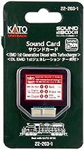 Kato KAT222031 Sound Card, EMD 1st Gen Diesel w/Turbo Sound Card