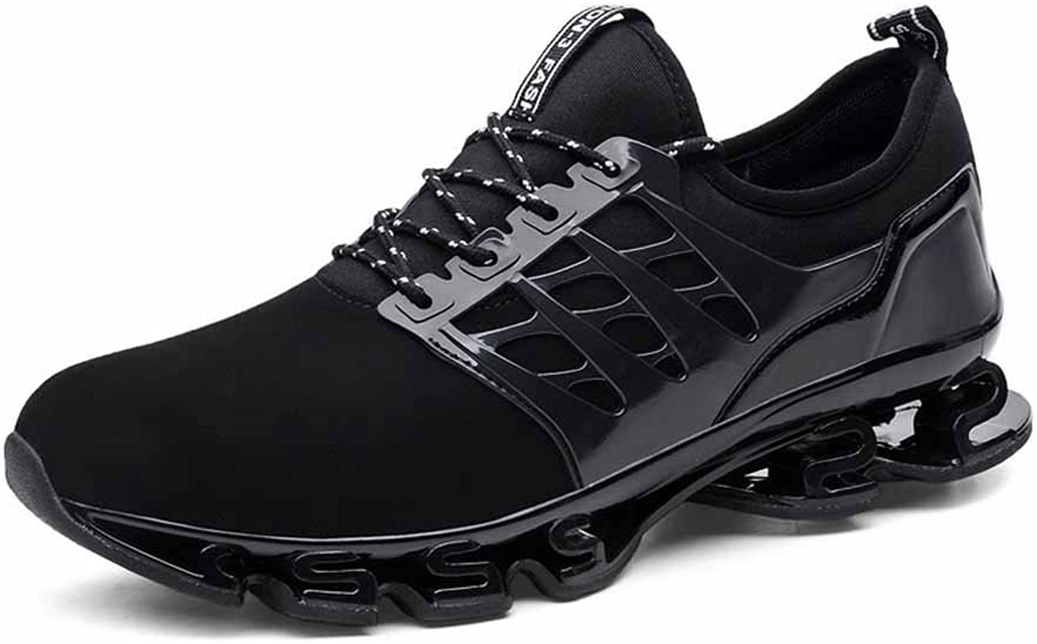 GLSHI Men Lightweight Blade Running shoes 2018 Summer New Breathable Warrior Sneakers Large Size