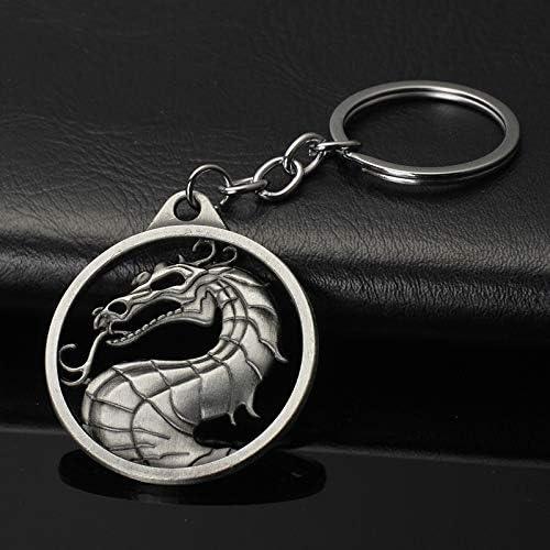 HUIZHANG Sleutelhanger Gift Imperial Fighting Game Logo Dragon Key Chain