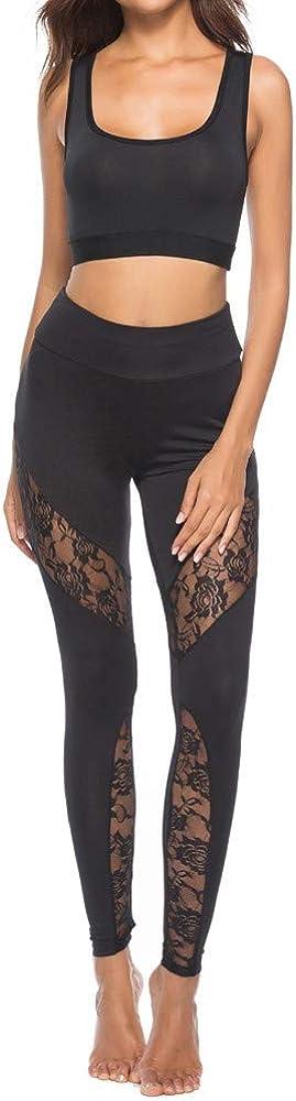Limsea 2019 Women's Yoga Pants Casu New Lace San Jose Mall Cheap bargain Stitching Leggings