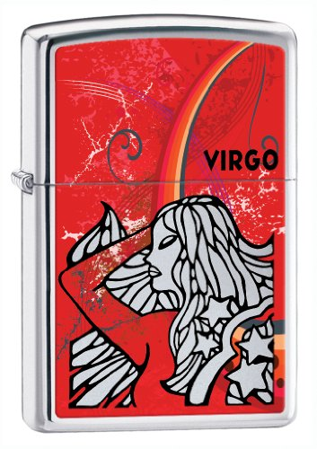 Zodiac Virgo High Polish Chrome