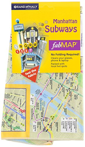 Fabric Map Manhattan Subway NY