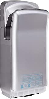 ModunDry Automatic Jet Hand Dryer 2000W Premium ABS Commercial High Speed, Dry Hands in 7s(Grey)