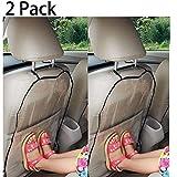 Funda para asiento de coche, de protección para los niños, protege de las manchas de zapatos, del barro, 44x 57cm, 2 unidades