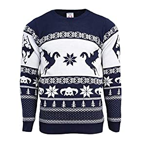 Official Elder Scrolls Skyrim Ugly Christmas Sweater for Men Or Women
