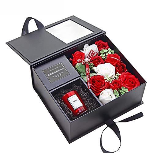 AELEGASN Velas Perfumadas Aromáticas,Cera De Soja Natural Decorativas Set Caja De Regalo...