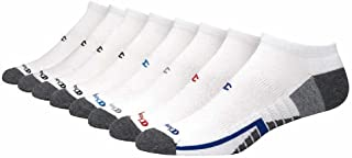 Champion,Low Cut Socks Men's,Quick Wicks Moisture,Vapor,Arch Support,Size 6-12(8 Pairs)