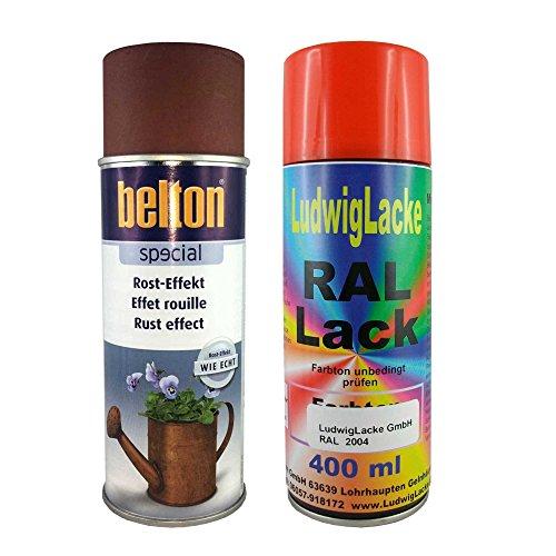 Rosteffekt Spray 400ml + Grundierung 400 ml