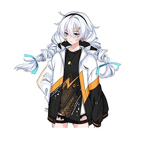 Kiana Kaslana Honkai Impact 3 Unisex Anime Coats Hoodies Cosplay Costume for Men/Women