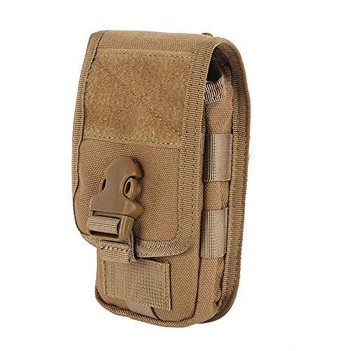LIUSIYU Tactical Pouch, Molle Militaire Taille Pack Compact EDC Utility Gadget Taille Fanny Bag voor hardlopen Fietsen Wandelen Wandelen Klimmen
