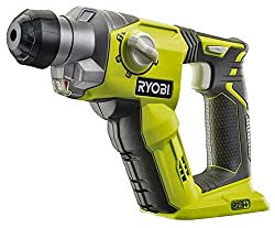 Hammer Drill for drilling through stone, concrete wood and metal. Pneumatic hammer mechanism delivers 1.3J of EPTA rated impact energy ideal for drilling holes in stone and concrete 4 modes for extra versatility (hammer drill, rotary drill, chisel, c...