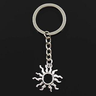 YCEOT sleutelhanger 25 x 26 mm glanzend hanger DIY mannen auto sleutelring sleutelring sleutelhanger aandenken sieraden ca...
