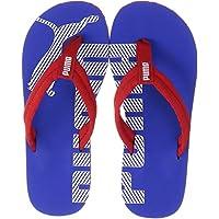 PUMA Epic Flip V2, Zapatos de Playa y Piscina Unisex-Adulto, Rojo (High Risk Red/Dazzling Blue 35), 43 EU