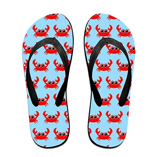 Iop 90p Divertenti Modelli di Granchio Infradito Pantofole Sandali da Spiaggia Scarpe da Piscina