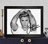 Justin Bieber Signed Autographed Photo 8X10 Reprint Rp Pp - Purpose