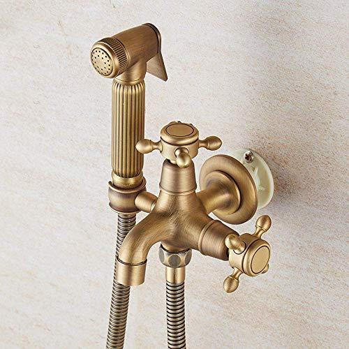 XUSHEN-HU Bidet Lavable bidé Handheld pañal de tela Pulverizador - grifo higiénico del Pistola Conjunto Companion Aseo Baño Servicio de limpieza en Flushing Lavadora Booster inyector de ducha Pulveriz
