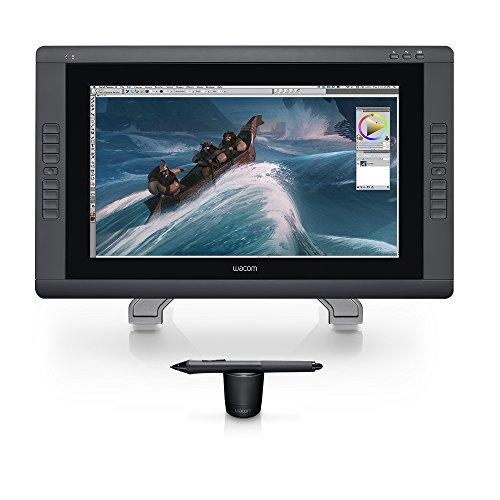 Wacom DTK2200 Cintiq 22HD 21-Inch Pen Display Tablet, Black