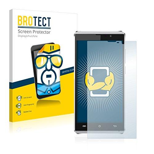 BROTECT Schutzfolie kompatibel mit Cubot P11 (2 Stück) klare Bildschirmschutz-Folie