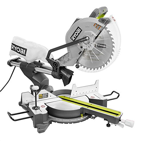 RYOBI TSS120L 12' 15 Amp Sliding Miter Saw with Laser