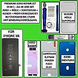 Kit batterie pour iPhone XR 2942 mAh avec kit d'outils, étui, verre de protection, adhésif et...