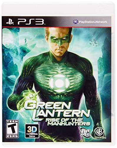 Warner Bros Green Lantern: Rise Of The Manhunters, PS3