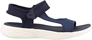 Skechers Australia ON-The-GO 600 - Rubix Women's Sandal, Navy/White, 5 US