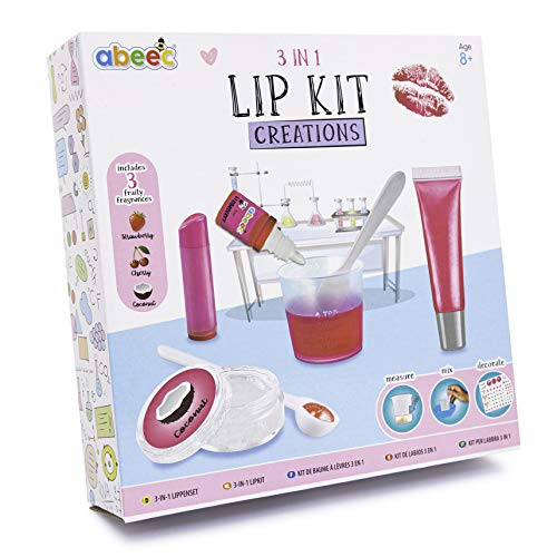 3 In 1 Lip Kit Creations - Make Your Own Lip Balm, Lip Gloss and Lip Balm...