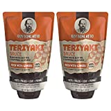 Guy Gone Keto Teriyaki Sauce | Infused with MTC Oil | Paleo Teriyaki Sauce | Low Carb Teriyaki Sauce | No Artificial Sweeteners | All Natural Allulose, Monkfruit & Stevia | 14 oz. (2 Pack)