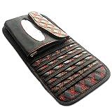 Chytaii Sonnenblende Auto CD Tasche Tissue Box Feines Mikrofaser Leder