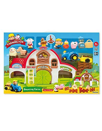 Keenway - Granja Infantil Animales y Figuras - 92330835