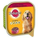 pedigree cibo per cane con manzo e tacchino in patè, vaschetta 300 g - 20 vaschette