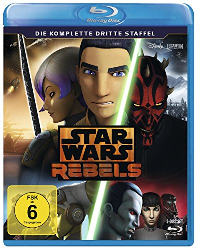 Star Wars Rebels - Die komplette dritte Staffel [Blu-ray]