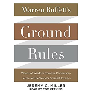 Warren Buffett's Ground Rules audiobook cover art
