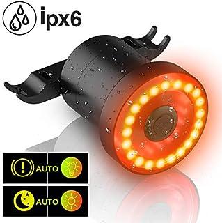 comprar comparacion MEIDI Luz Trasera Bicicleta, XLite100 Inteligente USB Recargable Tratamiento de Freno automático luz Rojas LED IPX6 luz Tr...