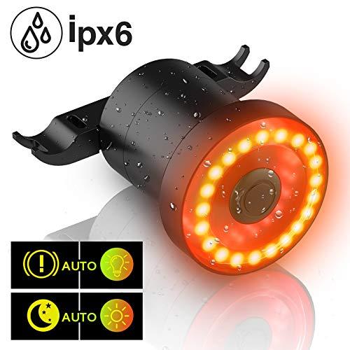 MEIDI Fahrrad Rücklicht XLite100 Intelligente USB Wiederaufladbare Automatische Bremsbehandlung LED-Licht IPX6 wasserdichte Nacht Warnung Rücklicht