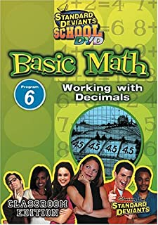 Standard Deviants School: Basic Math - Program 6 - Working with Decimals